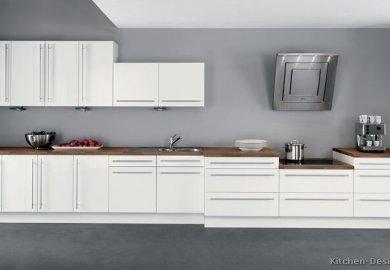 White Kitchen Cabinets And Granite