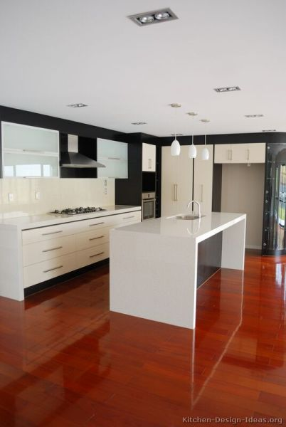 modern white kitchen cabinets Pictures of Kitchens - Modern - White Kitchen Cabinets