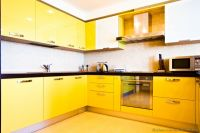 Pictures of Modern Yellow Kitchens