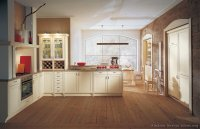 Kitchen Color Walls With White Cabinets. green kitchen