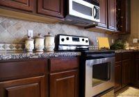 Tile Backsplash Ideas For Cherry Wood Cabinets - Best Home ...