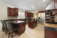 Pictures of Kitchens - Traditional - Dark Wood Kitchens ...