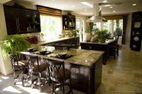 Pictures of Kitchens - Traditional Dark Espresso Kitchen ...