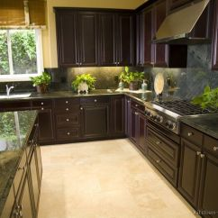 Resurface Kitchen Countertops Pine Cabinets Pictures Of Kitchens - Traditional Dark Espresso ...
