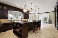 Pictures of Kitchens - Traditional - Dark Wood, Nearly ...