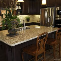 Kitchen Backsplash Rolls Island Kits Pictures Of Kitchens - Traditional Dark Espresso ...