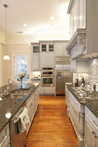 Pictures of Kitchens - Traditional - Gray Kitchen Cabinets ...