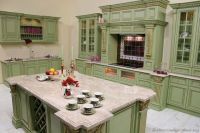 Pictures of Kitchens - Traditional - Green Kitchen Cabinets