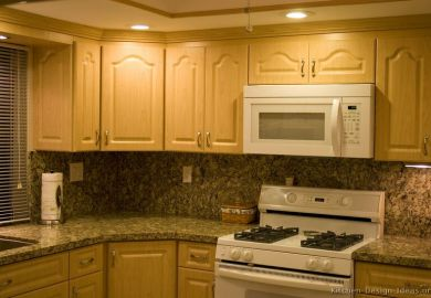 Kitchen Cabinets Light Wood