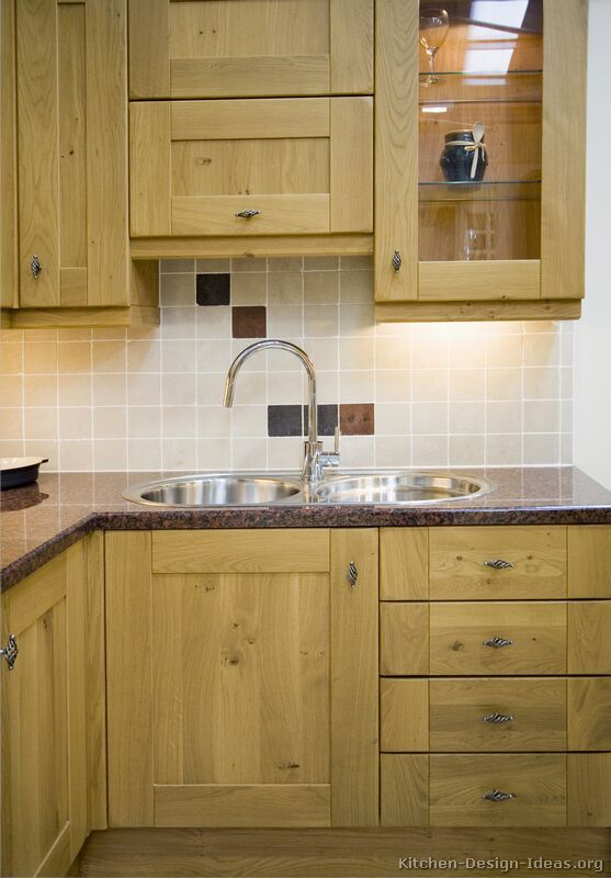 Pictures Of Kitchens Traditional Light Wood Kitchen Cabinets Page 2