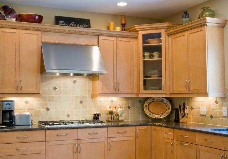 Light Wood Design Kitchen Cabinets