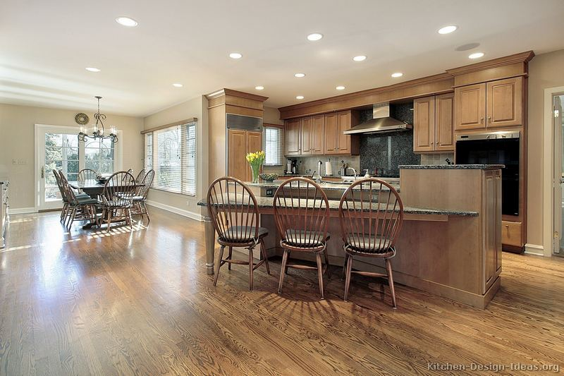 styles of chairs names wicker chair cushions outdoor pictures kitchens - traditional light wood kitchen cabinets (page 6)