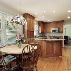 Brown Kitchen Backsplash Gel Pro Mats Pictures Of Kitchens - Traditional Medium Wood Cabinets ...