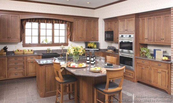 traditional country kitchen design Country Kitchen Design Pictures and Decorating Ideas