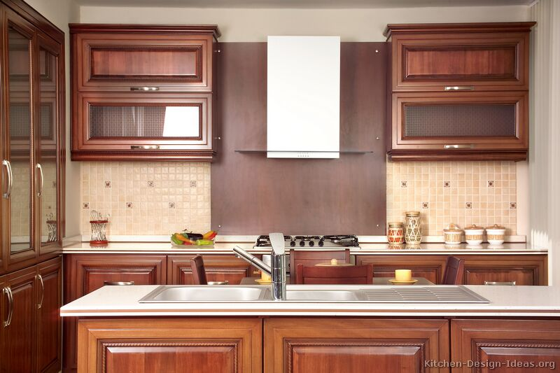 cleaning kitchen wood cabinets cabinet redooring pictures of kitchens - traditional medium ...