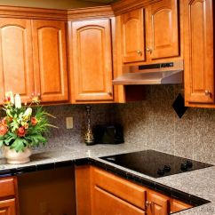 Ideas For Kitchen Cabinets Turquoise Appliances Pictures Of Kitchens - Traditional Medium Wood ...