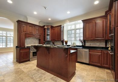 Search Kitchen Colors With Cherry Wood Cabinets