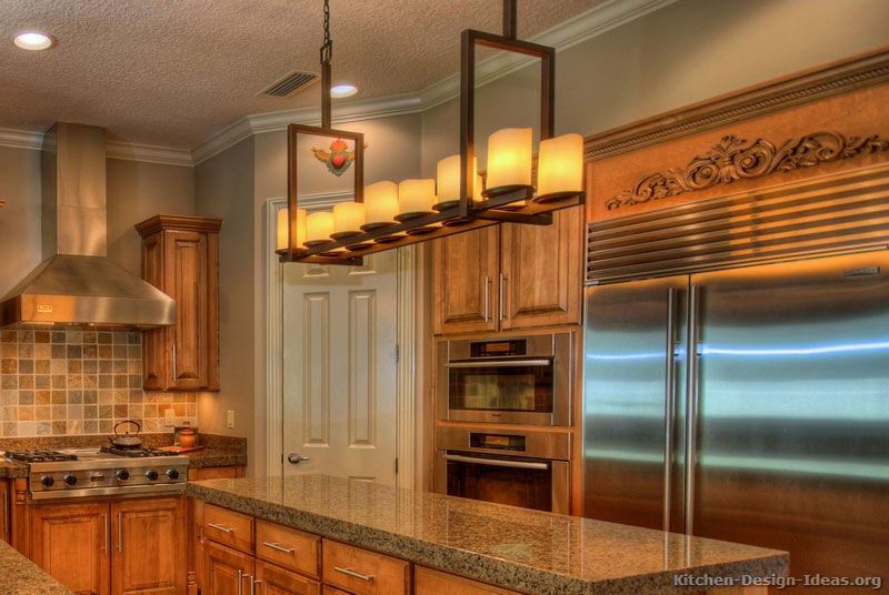 kitchen cabinets and countertops island kitchens rustic designs - pictures inspiration