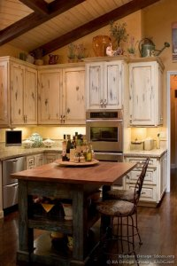 French Country Kitchen Island Lighting