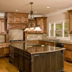Tuscan Style Kitchen Amish Cabinets Design Decor Ideas