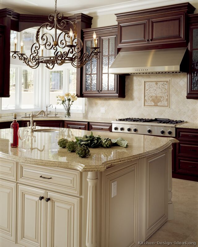 Pictures of Kitchens  Traditional  OffWhite Antique