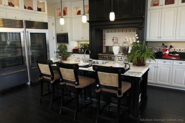 black and white wood kitchen design ideas Black and White Kitchen Designs In New Jersey » Natural Stone Kitchen and Bath LLC