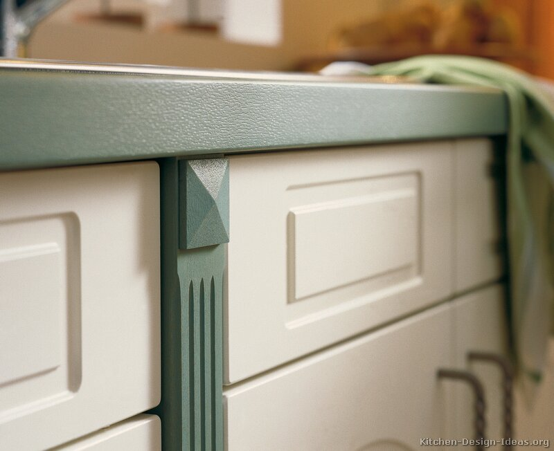 Fillers Fluted Kitchen Cabinets