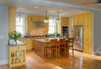 Pictures of Kitchens - Traditional - Yellow Kitchen Cabinets