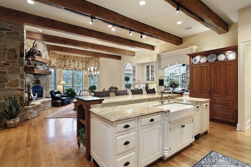 14 Simple Rustic White Kitchen Cabinets Designs Images