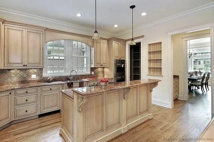 Best Ideas Whitewash Kitchen Cabinets