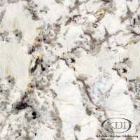 White Spring Granite - Kitchen Countertop Ideas