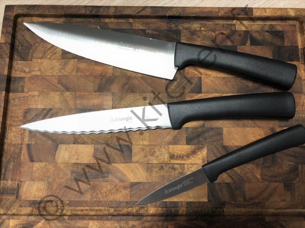 3 couteaux de professionnels pour