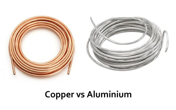 Copper Coil vs Aluminium coil in AC - Which is better?