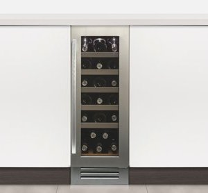 Undercounter Single Zone Wine Cabinet W 295mm