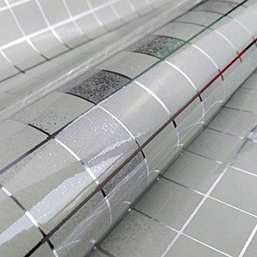 DOOXOO High-grade Aluminum Foil Wall Wallpaper the Kitchen ...