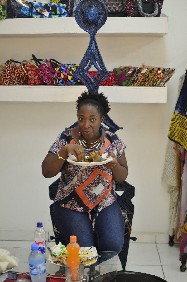 Amala & Ewedu Nike Art Kitchen Butterfly