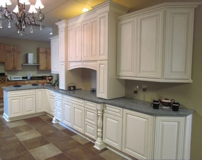 kitchen cabinets rta gray floor ready to assemble sale view heirloom white