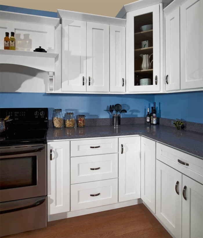 shaker kitchen cabinets chairs cheap white ready to assemble