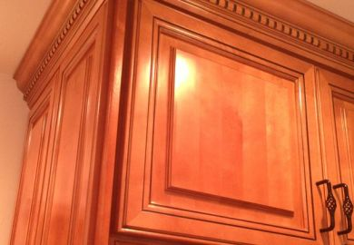 Make Kitchen Cabinet Crown Molding