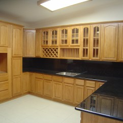 All Wood Kitchen Cabinets Purple Wall Tiles Natural Oak  Solid