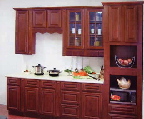 www.kitchen cabinets kitchen modern design contemporary wholesale priced at oak cherry