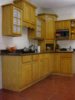 oak kitchen cabinet aid bowls natural cabinets solid all wood cabinetry finish
