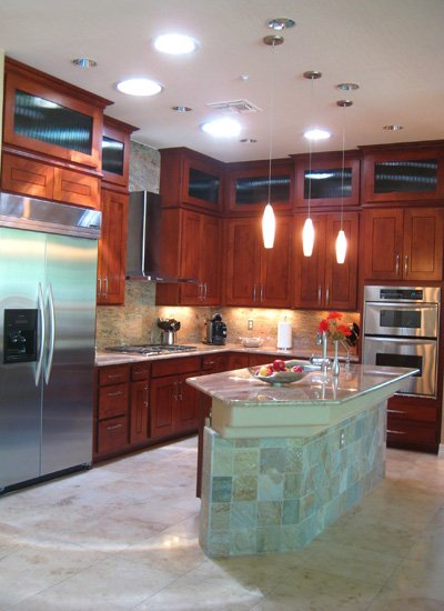 Kitchen Style Trends Staked Upper Cabinets  Better Than