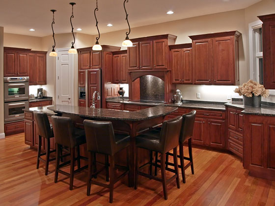 Kitchen Cabinet Layout and Design