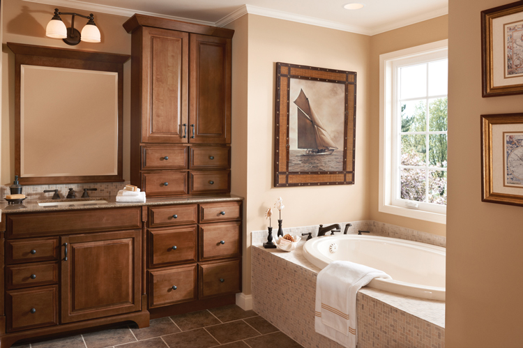 KraftMaid Bath Cabinet Gallery  Kitchen Cabinets Atlanta GA