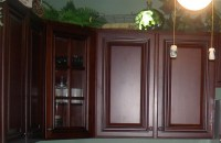 Staining Kitchen Cabinets - try it for painting old ...