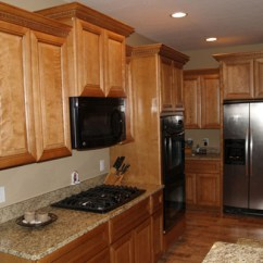 Oak Kitchen Cabinet Stainless Steel Faucet Wood Cabinets Value