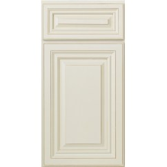 Raised Panel Kitchen Cabinets How To Paint Grey Cabinet Door Value Glazed White
