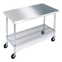 """Stainless Steel Work Table - 49"""""""