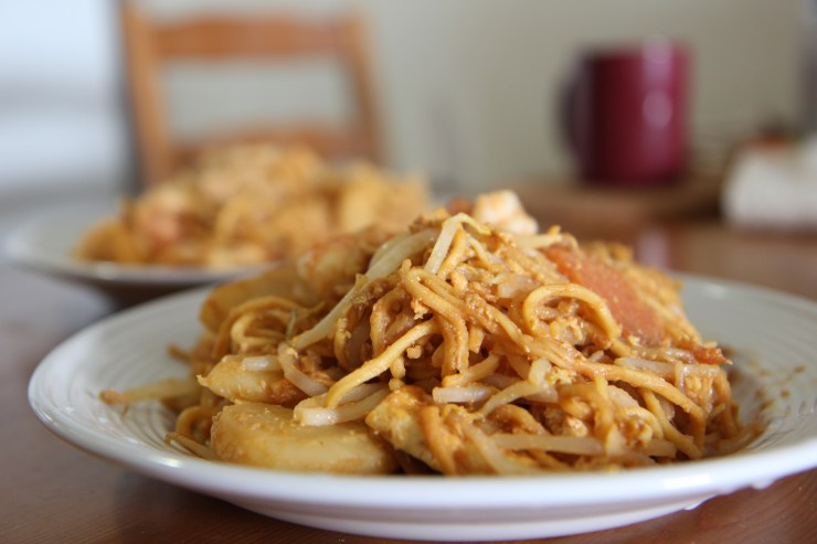 Mee goreng mamak - Malaysian fried noodles